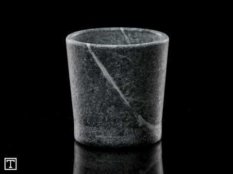 Soapstone Tumbler Whiskey Glass Made in America