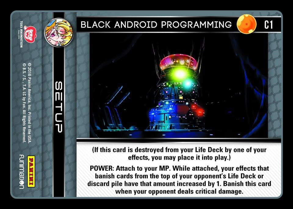#C001 Black Android Programming (Vengeance) - Foil