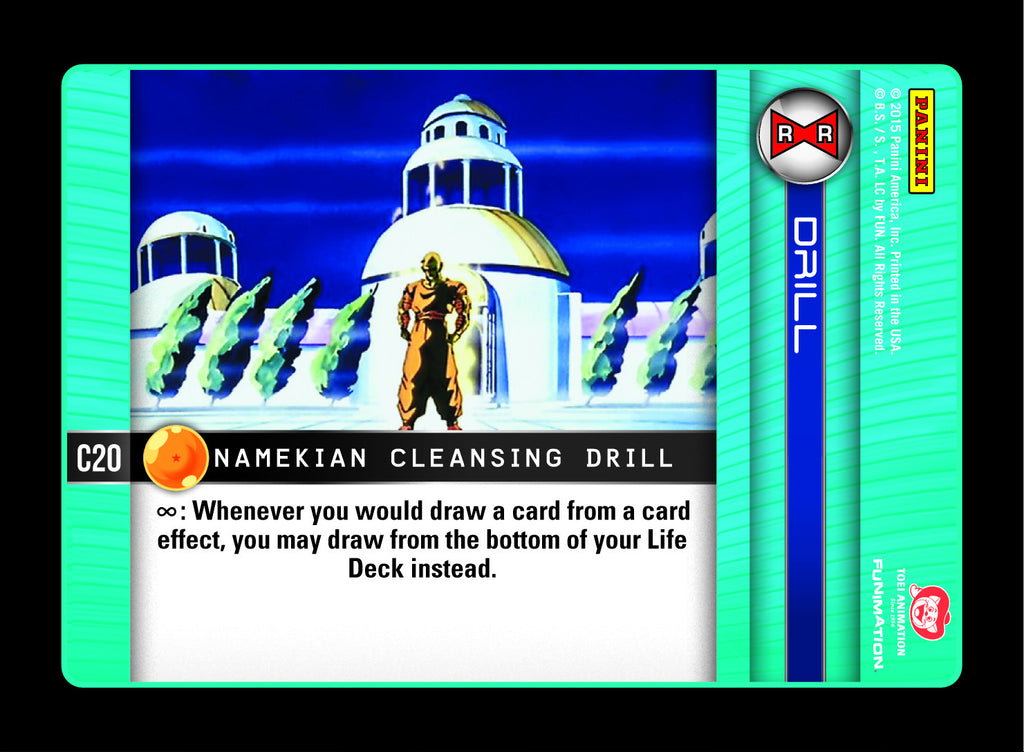 #C020 Namekian Cleansing Drill - Foil (Evolution)