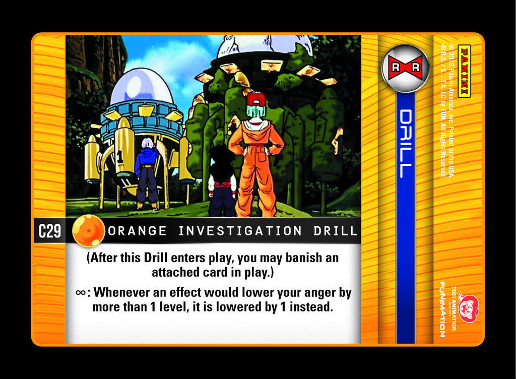 #C029 Orange Investigation Drill (Evolution)