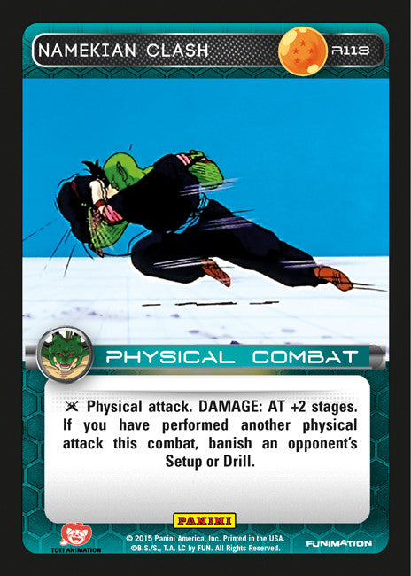 #R113 Namekian Clash - Foil (Heroes and Villains)