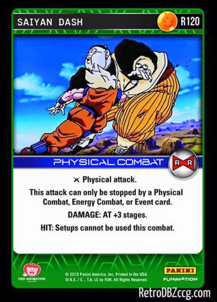 #R120 Saiyan Dash - Foil (Evolution)