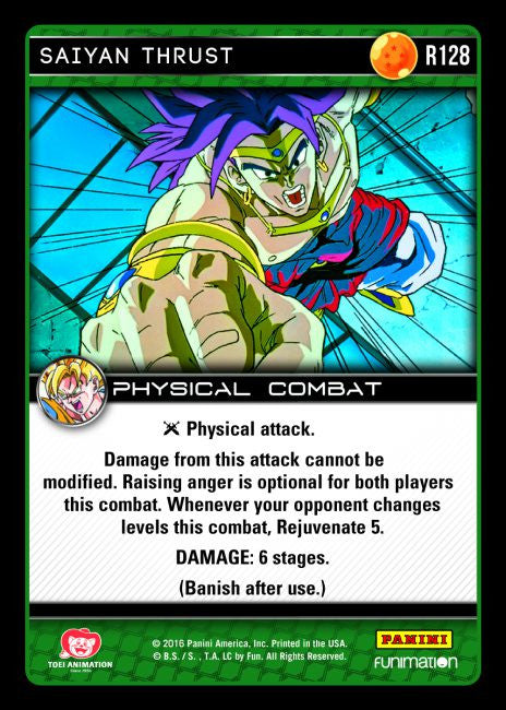 #R128 Saiyan Thrust (Vengeance)