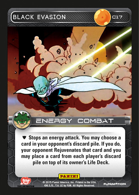 #C017 Black Evasion - Foil (Heroes and Villains)