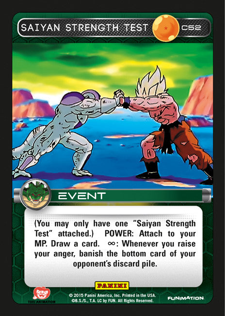 #C052 Saiyan Strength Test (Heroes and Villains)