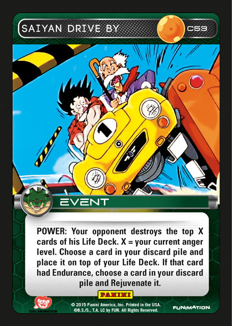 #C053 Saiyan Drive By (Heroes and Villains)