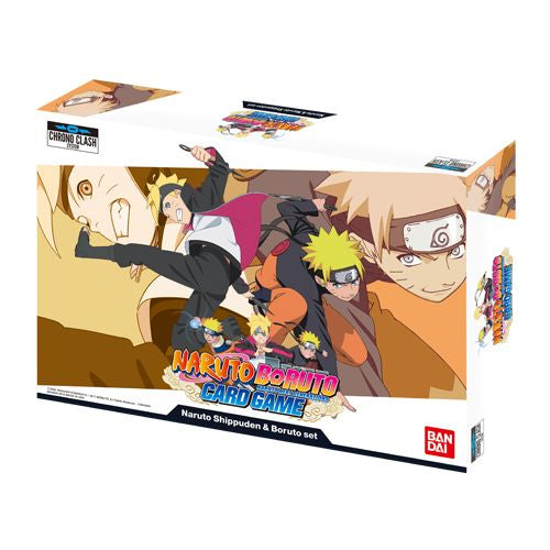 Naruto Boruto Card Game: Naruto Shippuden and Boruto Set ***Pre-Order***
