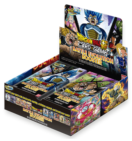 DRAGON BALL SUPER CARD GAME Battle Evolution Booster [EB-01]