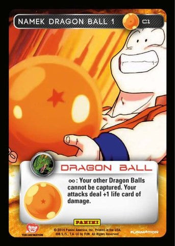 #C001 Namek Dragon Ball 1 - Foil (Premiere Set)