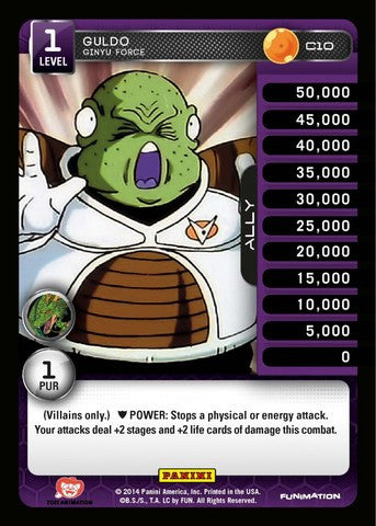 #C010 Guldo - Ginyu Force - Foil (Premiere Set)