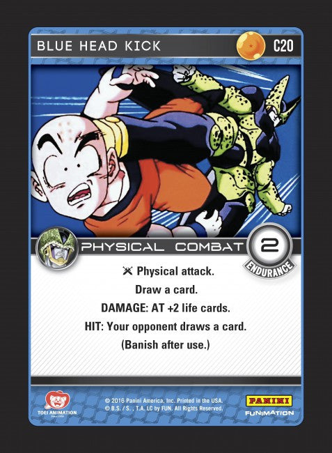 #C020 Blue Head Kick (Perfection) - Foil