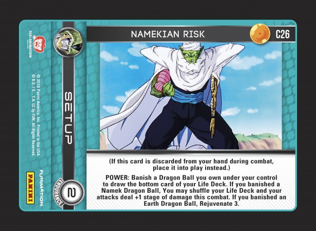 #C026 Namekian Risk (Perfection) - Foil