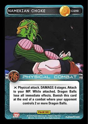 #C026 Namekian Choke - Foil (Movie Collection)