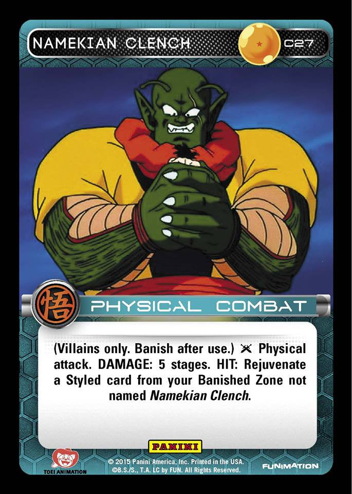 #C027 Namekian Clench - Foil (Movie Collection)