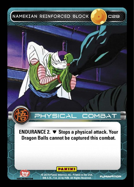 #C029 Namekian Reinforced Block (Movie Collection)