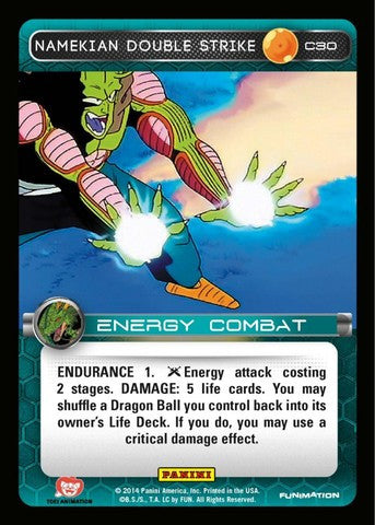 #C030 Namekian Double Strike - Foil (Premiere Set)