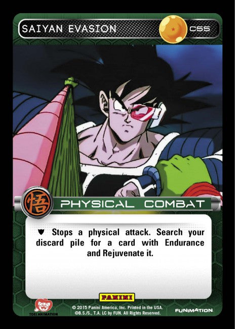 #C055 Saiyan Evasion - Foil (Movie Collection)