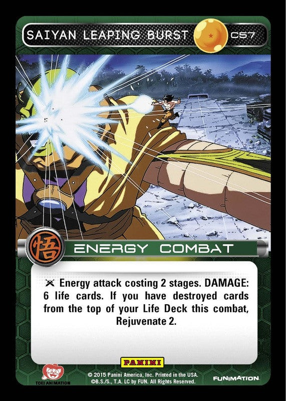 #C057 Saiyan Leaping Burst - Foil (Movie Collection)