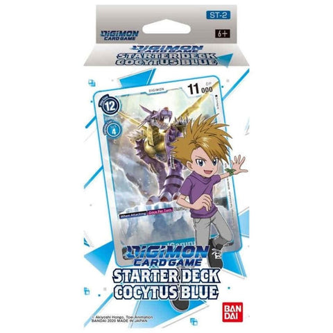 DIGIMON CARD GAME, Starter Deck, COCYTUS BLUE【ST-2】