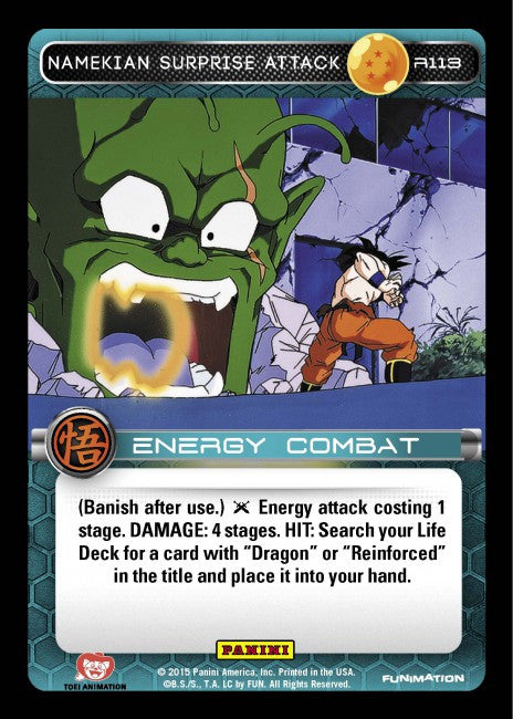 #R113 Namekian Surprise Attack - Foil (Movie Collection)