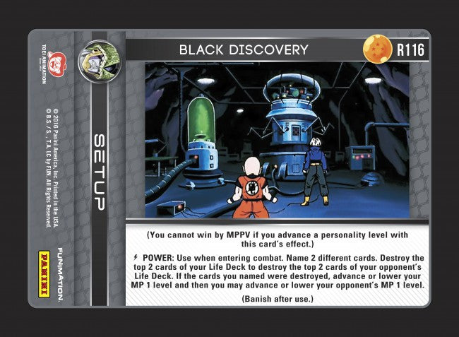 #R116 Black Discovery (Perfection) - Foil