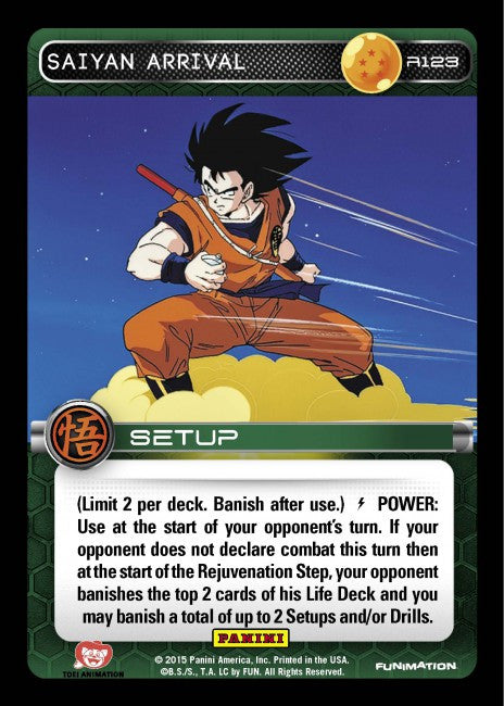 #R123 Saiyan Arrival - Foil (Movie Collection)