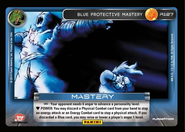 #S029 Blue Protective Mastery - High Tech Foil (Premiere Set)