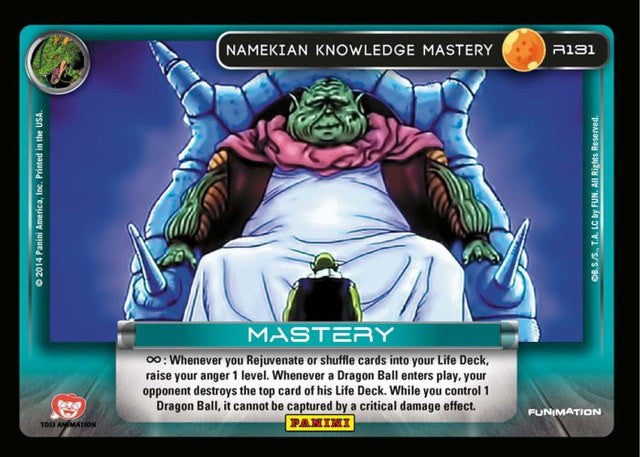#R131 Namekian Knowledge Mastery - Foil (Premiere Set)
