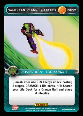 #R135 Namekian Planned Attack - Foil (Premiere Set)