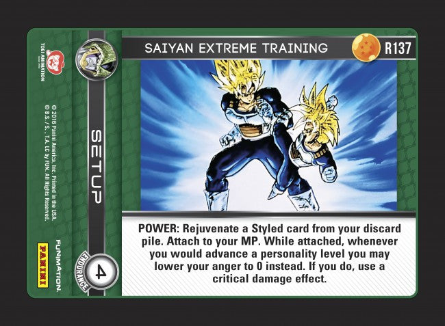 #R137 Saiyan Extreme Training (Perfection) - Foil