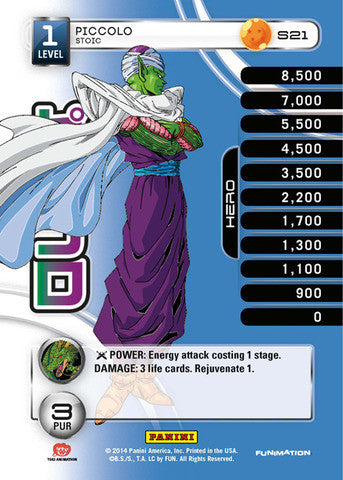 #S021 Piccolo - Stoic - High Tech Foil (Premiere Set)