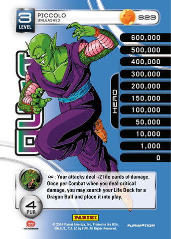 #S023 Piccolo - Unleashed - Rainbow Prism Foil (Premiere Set)
