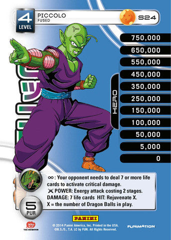#S024 Piccolo - Fused - High Tech Foil (Premiere Set)