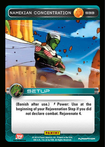 #S033 Namekian Concentration - Foil (Premiere Set)