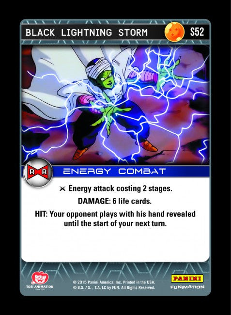 #S052 Black Lightning Storm - Foil (Evolution)