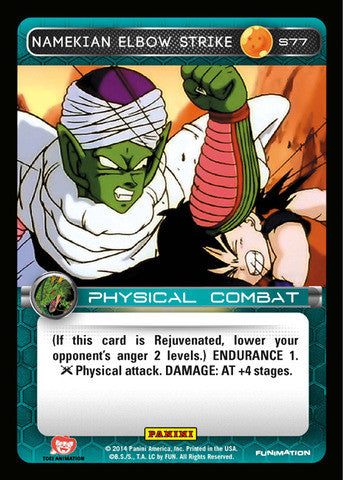 #S077 Namekian Elbow Strike - Foil (Premiere Set)