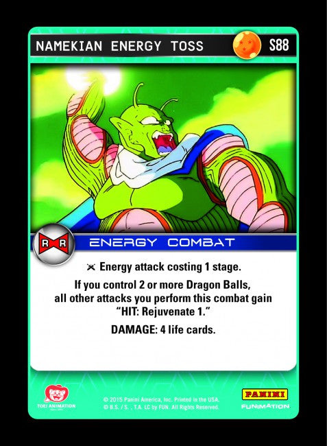#S088 Namekian Energy Toss - Foil (Evolution)