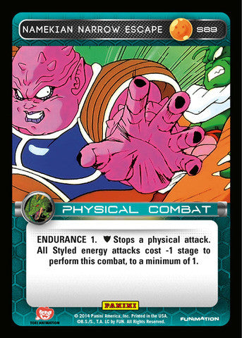 #S089 Namekian Narrow Escape - Foil (Premiere Set)