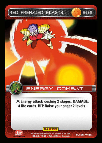 #S118 Red Frenzied Blasts - Foil (Premiere Set)
