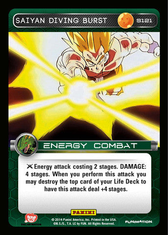 #S121 Saiyan Diving Burst - Foil (Premiere Set)