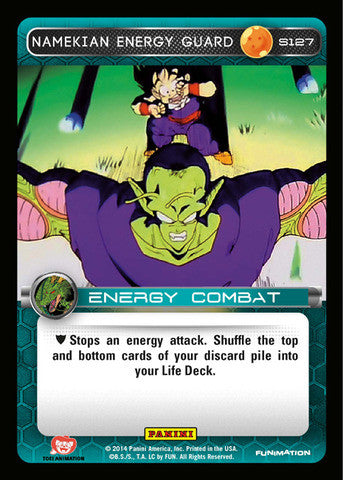 #S127 Namekian Energy Guard - Foil (Premiere Set)