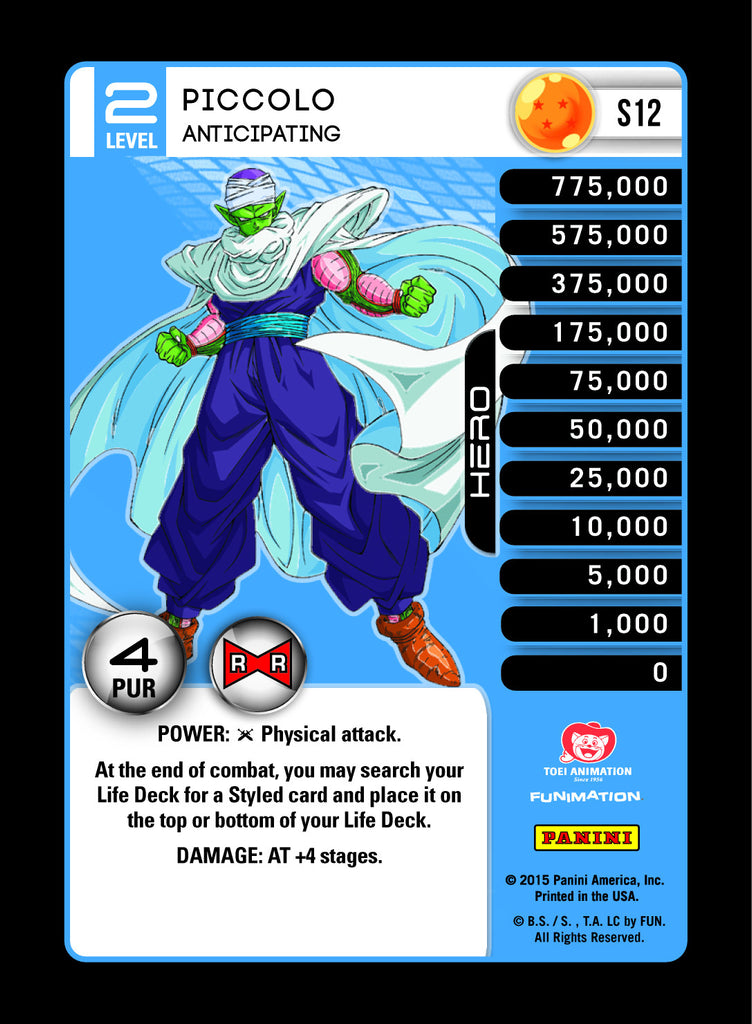 #S012 Piccolo, Anticipating - Rainbow Prism Foil (Evolution)
