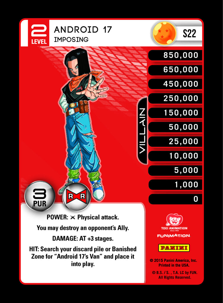 #S022 Android 17, Imposing - High Tech Foil (Evolution)