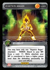 #U120 Vegeta's Anger - Foil (Premiere Set)