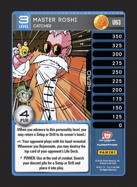 #U063 Master Roshi - Catcher (Perfection) - Foil