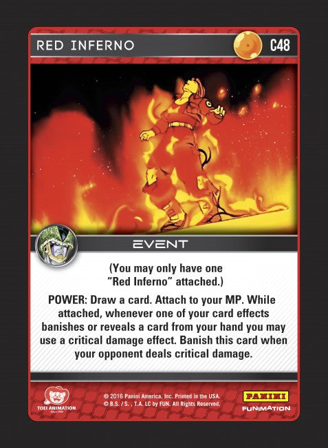 #C048 Red Inferno (Perfection) - Foil