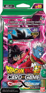 Dragon Ball Super Card Game - Cross Worlds Special Pack SP03