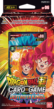 Dragon Ball Super Card Game - Destroyer Kings Special Pack SP06