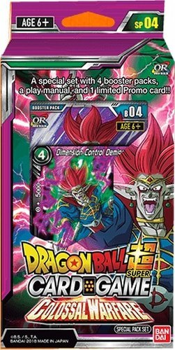 Dragon Ball Super Card Game - Colossal Warfare Special Pack SP04
