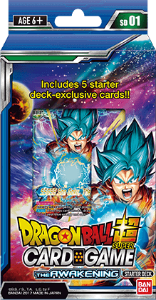 Dragon Ball Super Card Game - The Awakening Starter Deck